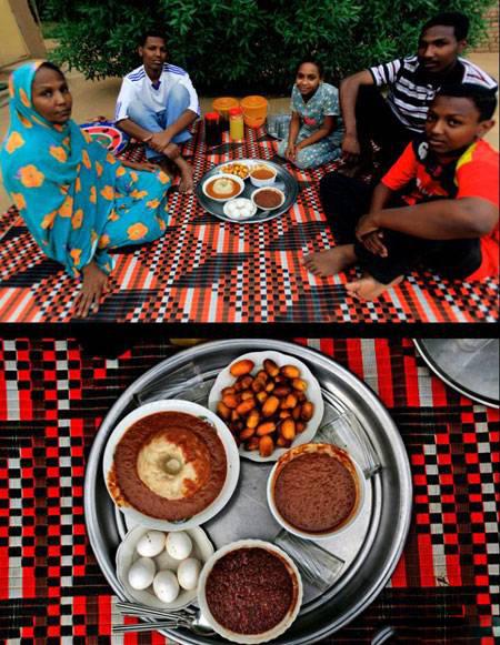 های افطاری 2 - تنوع سفره های افطاری مسلمانان سراسر جهان