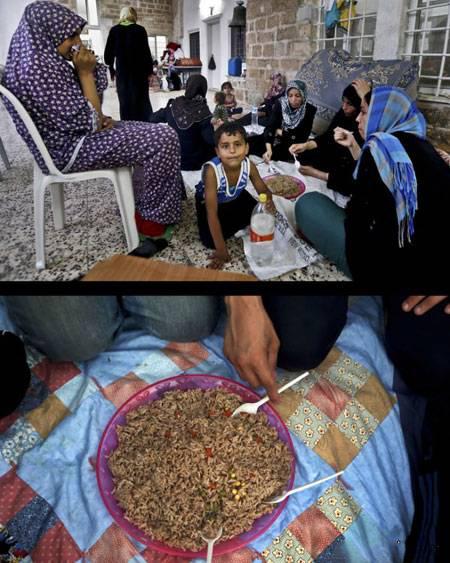 های افطاری 3 - تنوع سفره های افطاری مسلمانان سراسر جهان