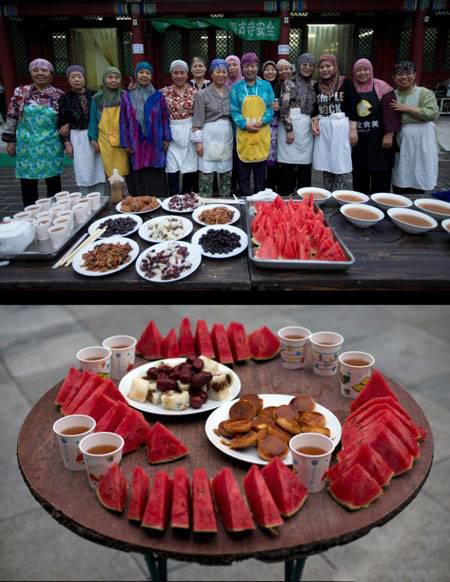 های افطاری 4 - تنوع سفره های افطاری مسلمانان سراسر جهان