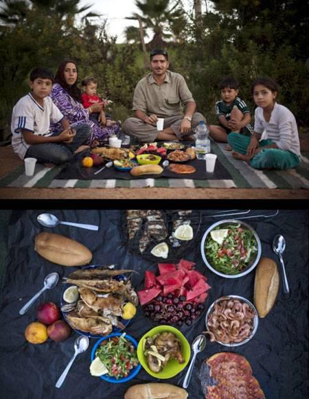 های افطاری - تنوع سفره های افطاری مسلمانان سراسر جهان