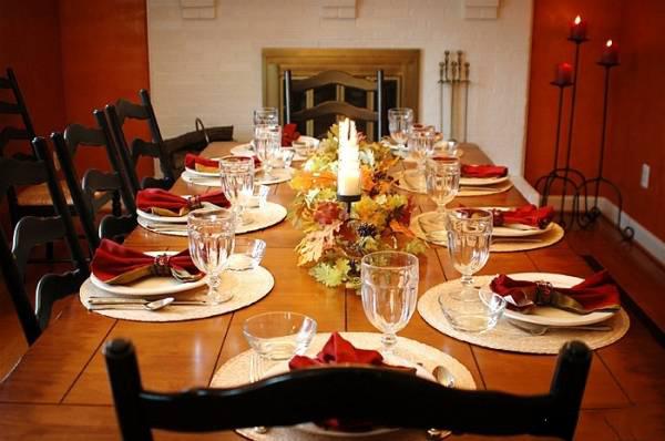 شام 1 - تکنیک های حرفه ای برای چیدن میز شام