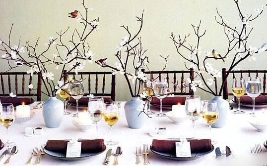 ناهار خوری - ایده های جدید برای تزیین میز ناهار خوری