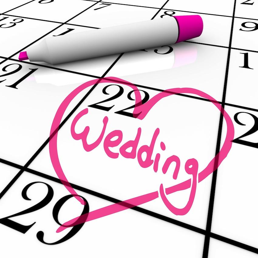 عروسی 6 - تنظيم تاريخ عروسي