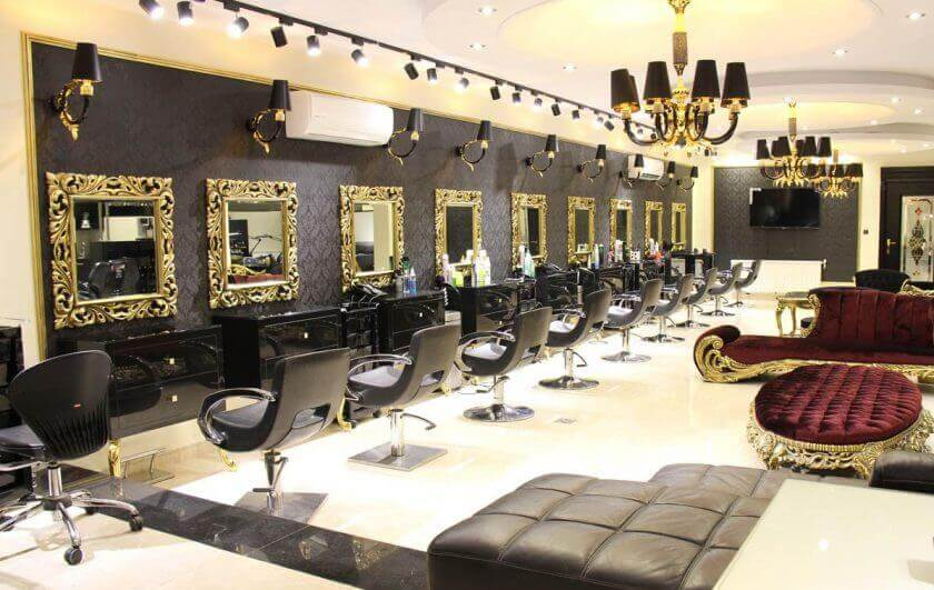زیبایی تهران مجلل - آرایشگاه های لوکس