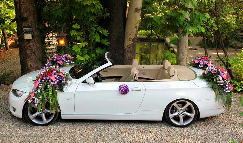 عروس ایرانی 1 - نکات طلایی گل آرایی ماشین عروس