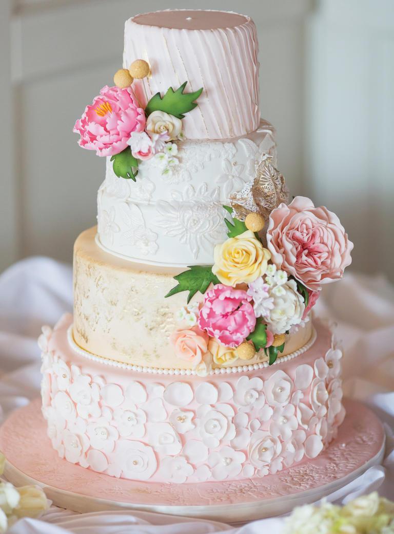 14 - مدلهایی زیبا برای کیک جشن عروسی