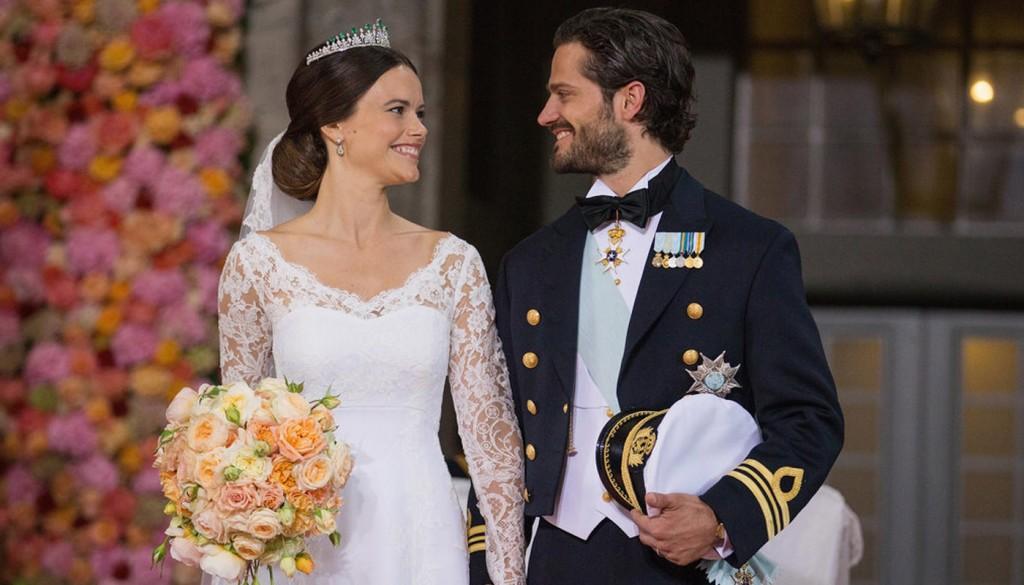 Best Swedish Royal Wedding Pictures 2015 1024x585 1 - عروسی های پرخرج دنیای هالیوود را بشناسید