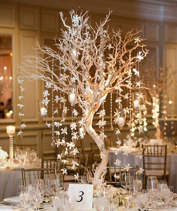 Table Decorations 6 - نحوه چیدمان میز عروسی