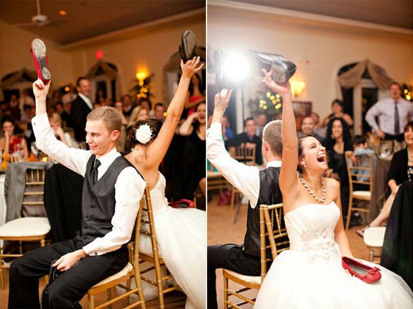 the shoe game 1 - بازی کفش: ایدهای جالب برای سرگرم کردن مهمانان عروسی