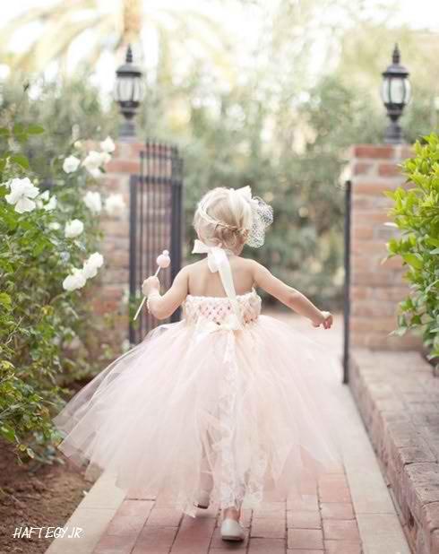 wedding dresses children haftegy.ir 5 - مدل های زیبا و جذاب لباس عروس بچگانه