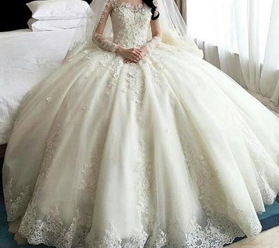 choose2 bride2 dress3 - لباس عروس مناسب اندام شما کدام هست؟