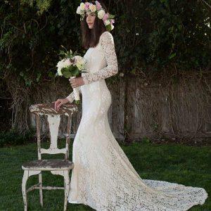 merimaid wedding dress for petite bride 300x300 - بهترین لباس عروس برای افراد قد کوتاه کدام ها هستند؟