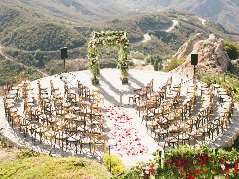 مراسم عروسی ۶ - ایدههایی منحصر به فرد برای برگزاری مراسم عروسی