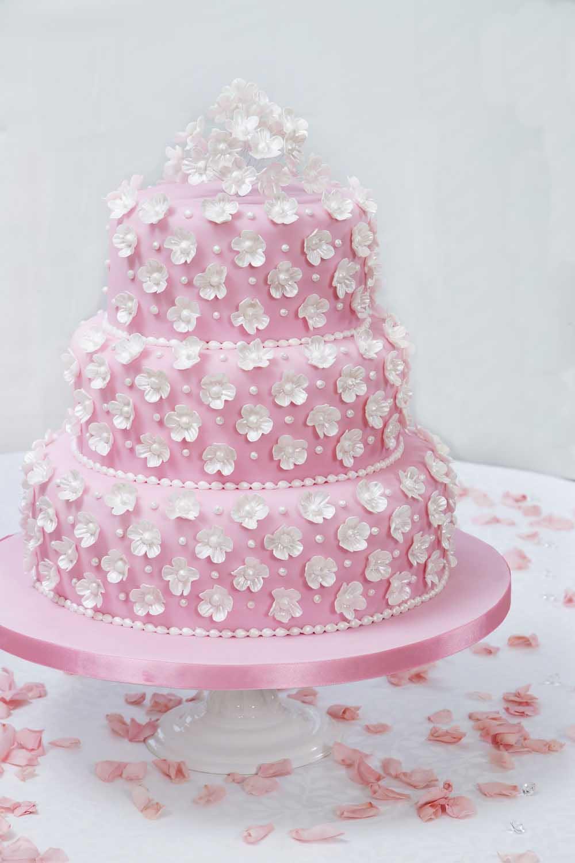 کیک عروسی - آموزش تزیین کیک عروسی در منزل