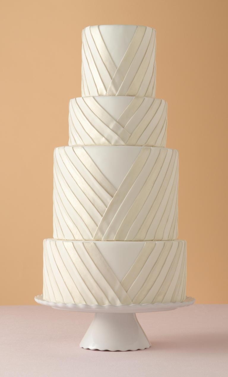 کیک عروسی 10 - زیباترین کیک عروسی که می توانید برای جشن های خود انتخاب کنید