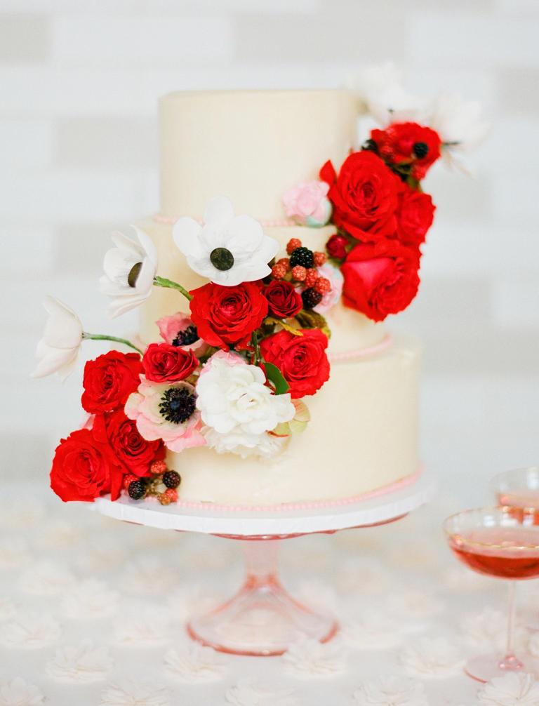 کیک عروسی 11 - زیباترین کیک عروسی که می توانید برای جشن های خود انتخاب کنید