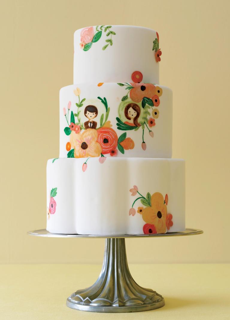 کیک عروسی 12 - زیباترین کیک عروسی که می توانید برای جشن های خود انتخاب کنید