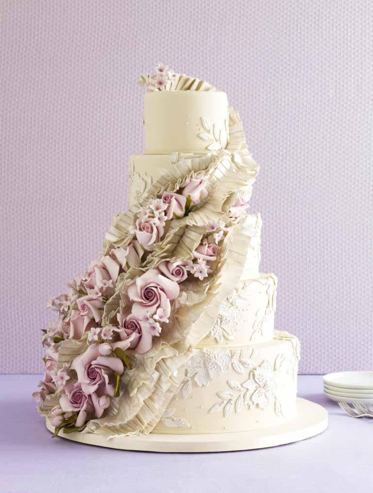 کیک عروسی 13 - زیباترین کیک عروسی که می توانید برای جشن های خود انتخاب کنید