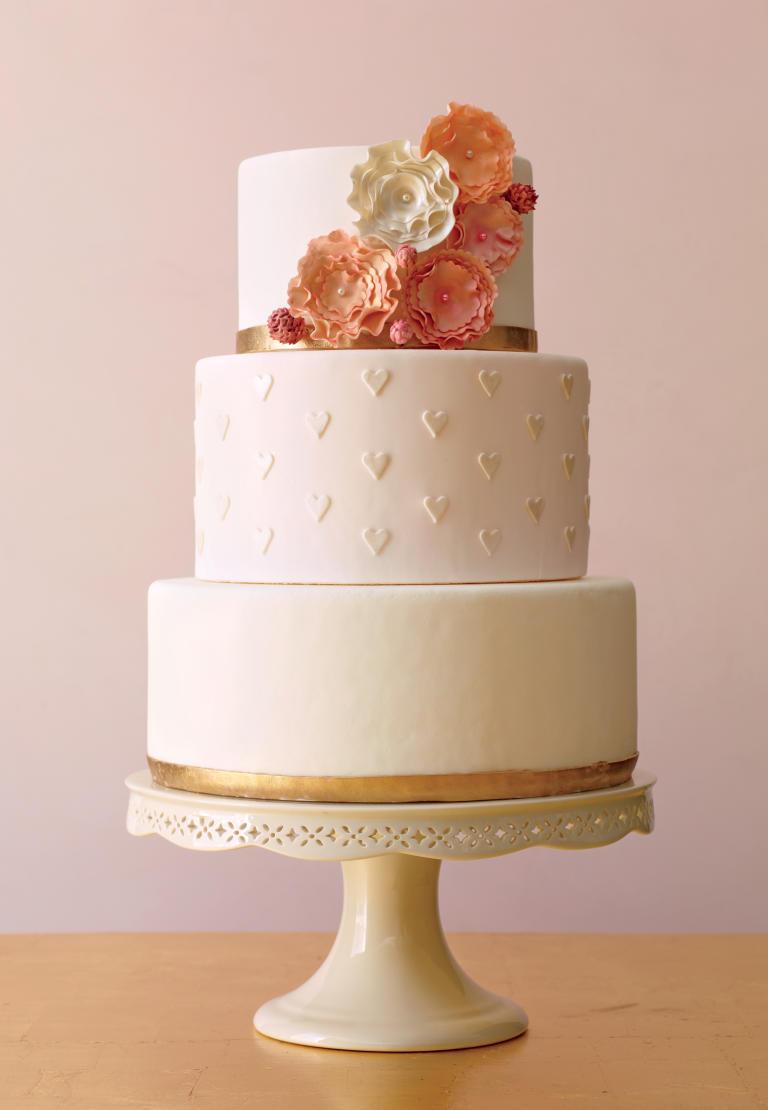 کیک عروسی 2 - زیباترین کیک عروسی که می توانید برای جشن های خود انتخاب کنید
