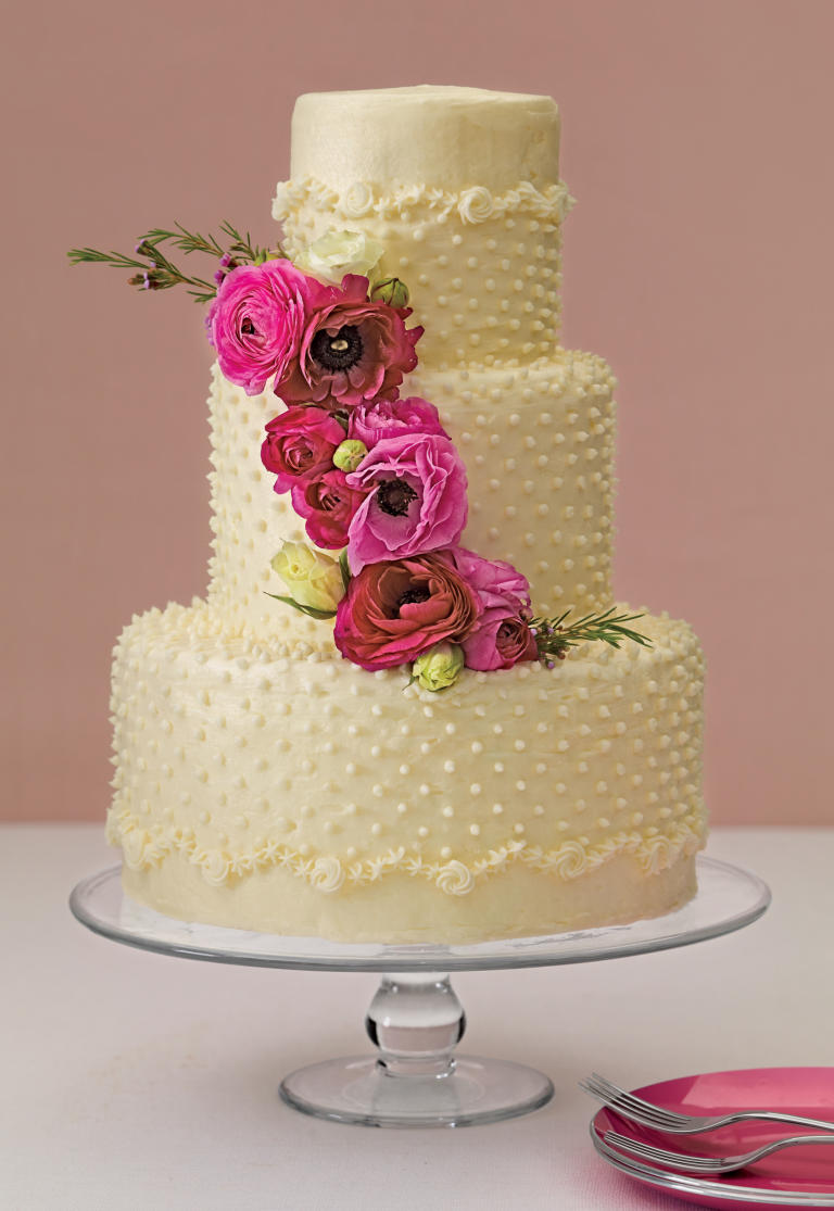 کیک عروسی 5 - زیباترین کیک عروسی که می توانید برای جشن های خود انتخاب کنید