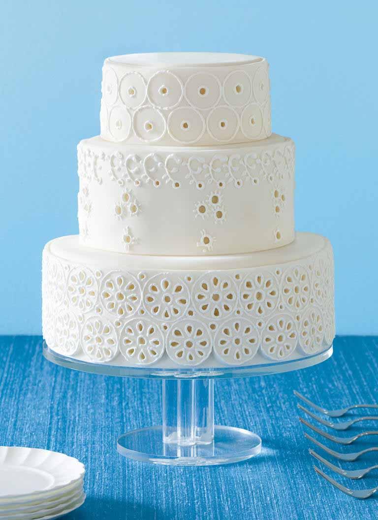کیک عروسی 7 - زیباترین کیک عروسی که می توانید برای جشن های خود انتخاب کنید