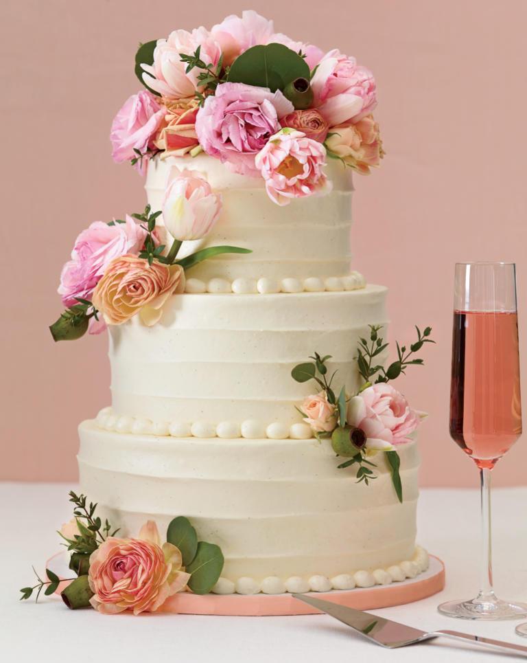 کیک عروسی 9 - زیباترین کیک عروسی که می توانید برای جشن های خود انتخاب کنید