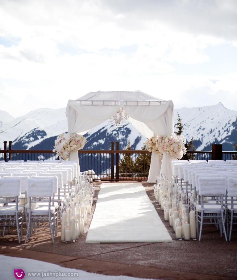 عروسی ۴ - ایدههایی برای اینکه سالن عروسی خود را متفاوت انتخاب کنید