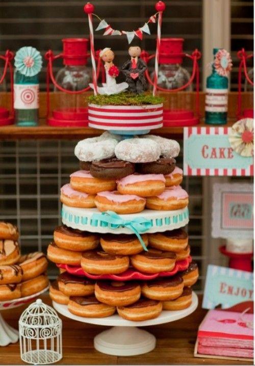 عروسی۱۳ - شیرینی عروسی خود را به شکل کیک بچینید