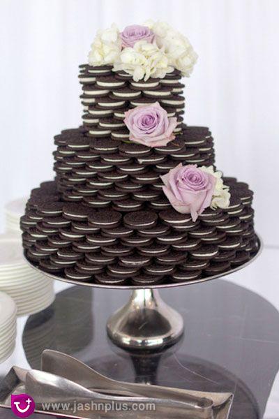 عروسی۱ - شیرینی عروسی خود را به شکل کیک بچینید
