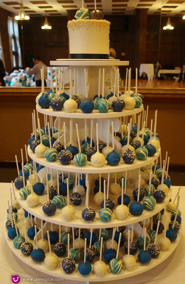 عروسی۲ - شیرینی عروسی خود را به شکل کیک بچینید