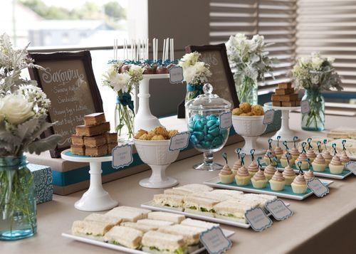 دسر عروسی 2 - چینش زیبای میز دسر عروسی برای عروس خانم های ایرانی