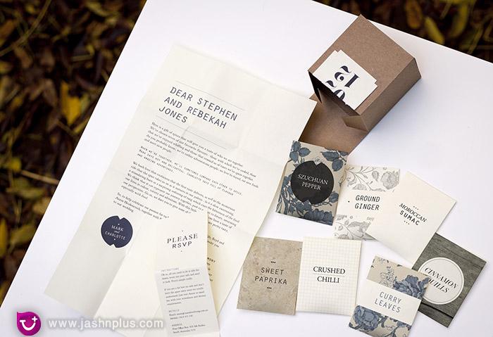 دعوت خاص عروسی به شکل جعبه ای ۳ 1 - کارت عروسی های خاص و خلاقانه که تا به حال به آنها فکر نکردهاید