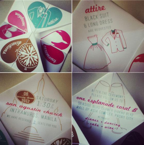 عروسی نمکدون کاغذی - کارت عروسی های خاص و خلاقانه که تا به حال به آنها فکر نکردهاید