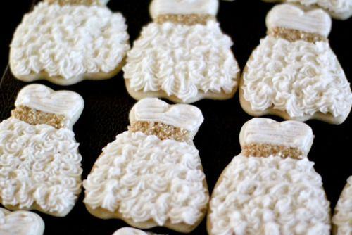 عروسی 1 - چند مدل کوکی عروسی زیبا که به عنوان شیرینی عروسی سرو میشوند