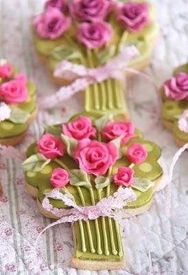 عروسی 10 - چند مدل کوکی عروسی زیبا که به عنوان شیرینی عروسی سرو میشوند