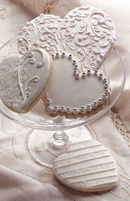 عروسی 14 - چند مدل کوکی عروسی زیبا که به عنوان شیرینی عروسی سرو میشوند