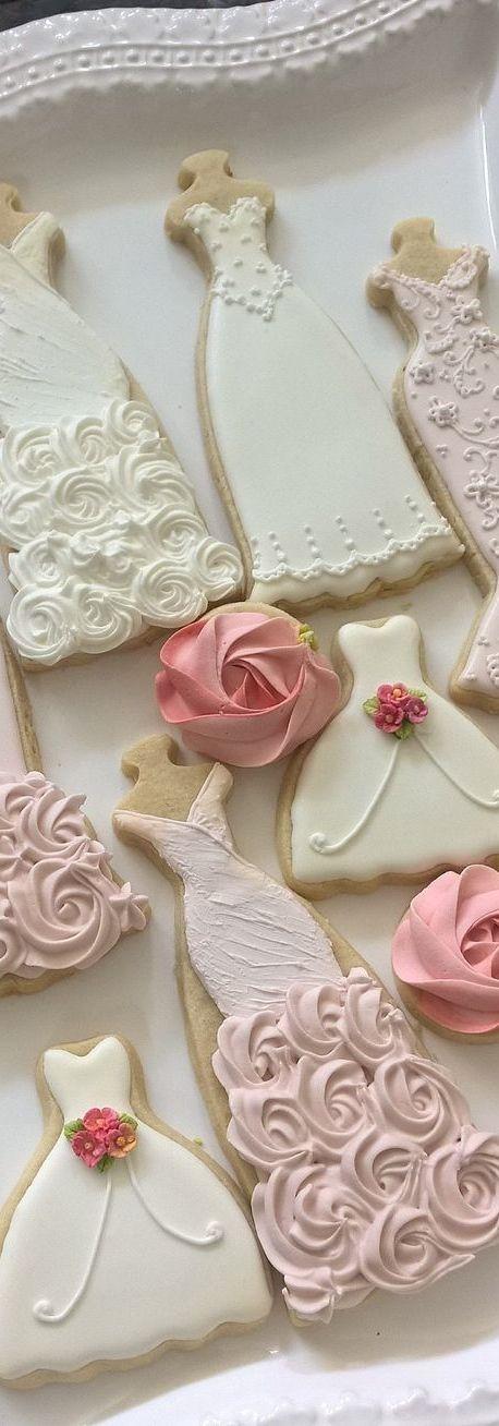 عروسی 4 - چند مدل کوکی عروسی زیبا که به عنوان شیرینی عروسی سرو میشوند
