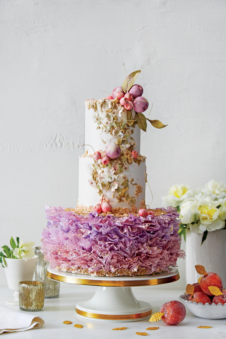 عروسی مدل فندق شکن - ۵ مدل کیک عروسی خاص برای جشنهای عروسی مجلل