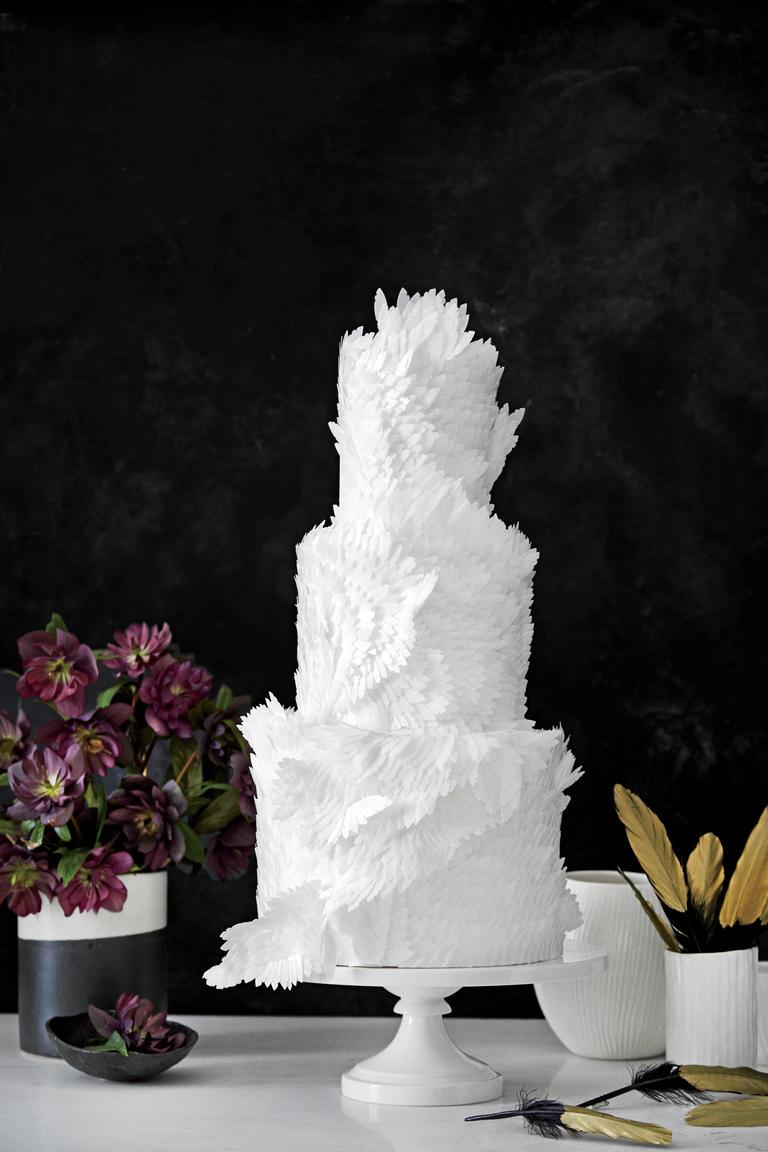 عروسی مدل پر قو - ۵ مدل کیک عروسی خاص برای جشنهای عروسی مجلل