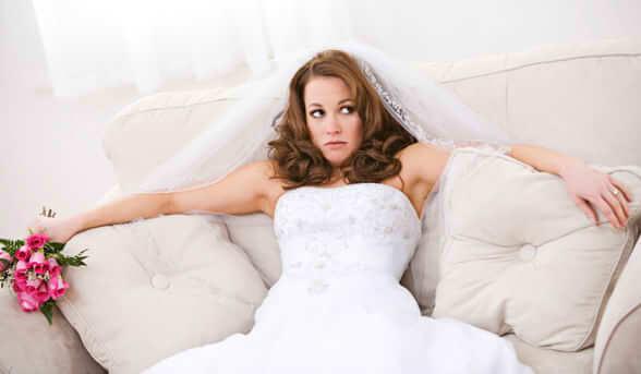 NervousBride article new - چطور استرس مان را در روز عروسی کنترل کنیم و از این روز لذت ببریم
