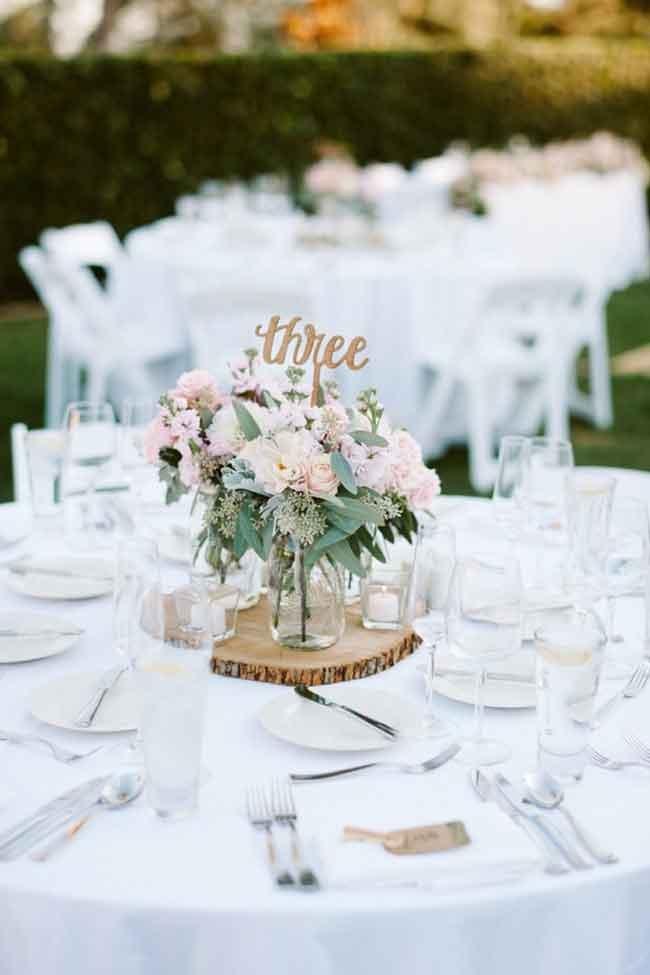 Whimsical and Romantic spring wedding centerpieces - ۲۳ ایدهی جالب برای گل آرایی مراسم عروسی