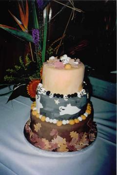cake of many designs - بد ترین کیک عروسی هایی که تا به حال دیدهاید
