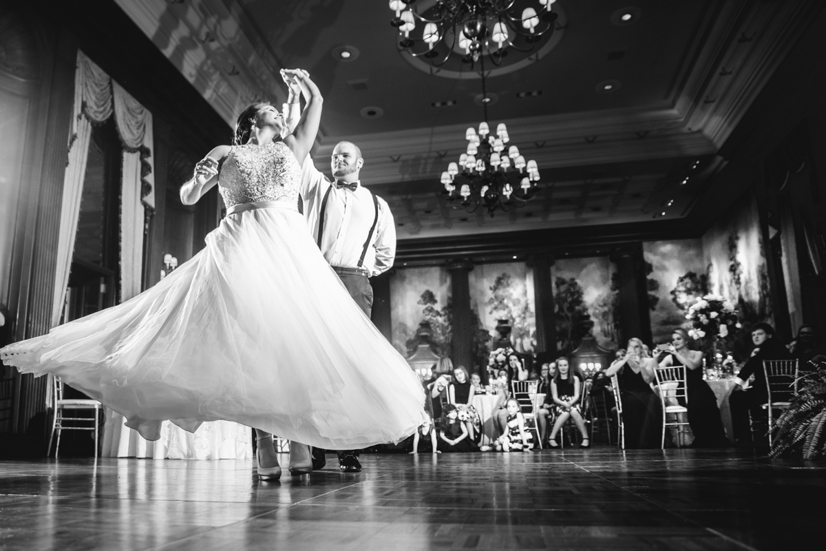 first dance at the duquesne club in downtown pittsburgh - چرا رقص دو نفره عروس و داماد مهم است؟