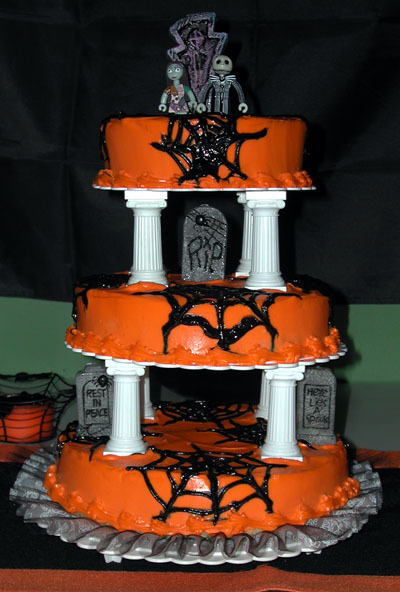 halloween wedding cake - بد ترین کیک عروسی هایی که تا به حال دیدهاید