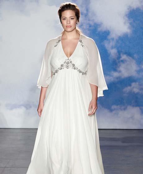 jenny packham wedding dresses spring 2015 031 - چگونه لباس عروس مناسب بدن خود را پیدا کنیم؟