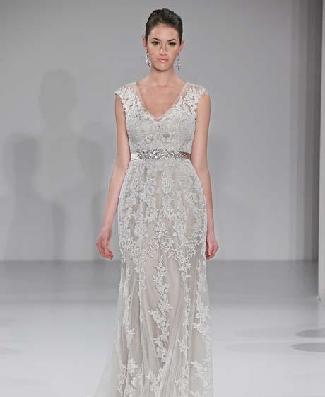 maggie sottero wedding dresses spring 2015 014 - چگونه لباس عروس مناسب بدن خود را پیدا کنیم؟