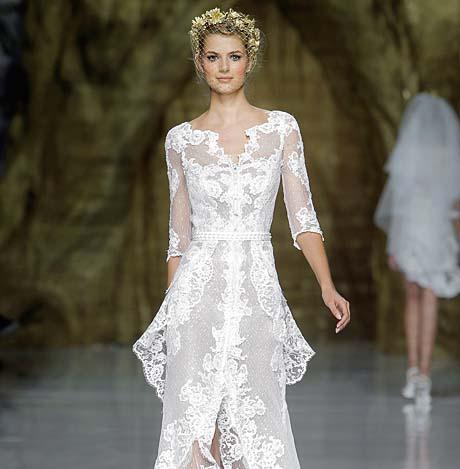 pronovias wedding dresses spring 2014 006 - چگونه لباس عروس مناسب بدن خود را پیدا کنیم؟