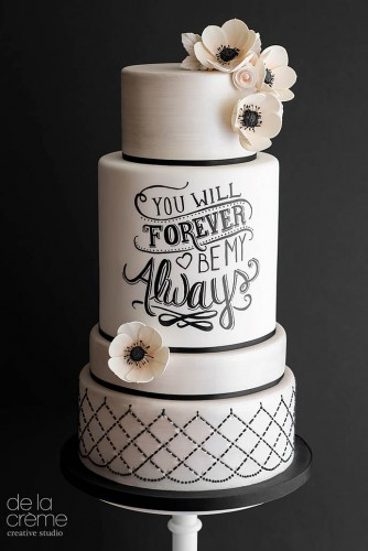wedding cakes pictures de la creme creative studio 334x500 - ۱۱ مدل تزیین کیک عروس متفاوت و جذاب