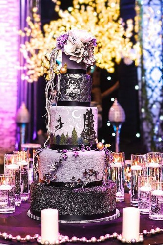 wedding cakes pictures fine cakes by zehra 334x500 - ۱۱ مدل تزیین کیک عروس متفاوت و جذاب