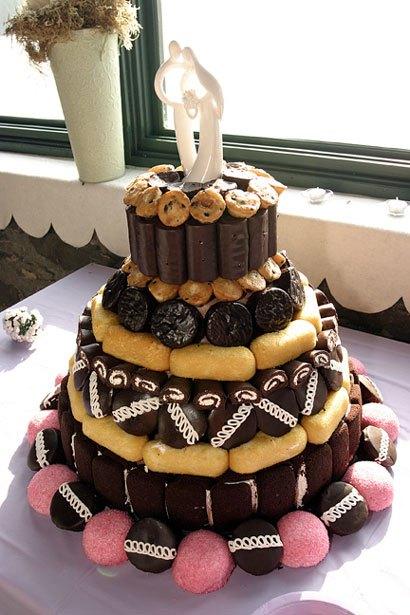wedding cup cakes - بد ترین کیک عروسی هایی که تا به حال دیدهاید